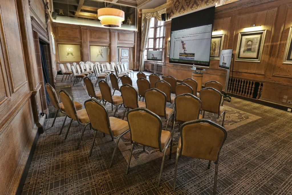 Conference presentation venue