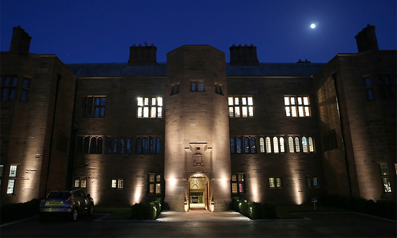 Abbey House Hotel at Night