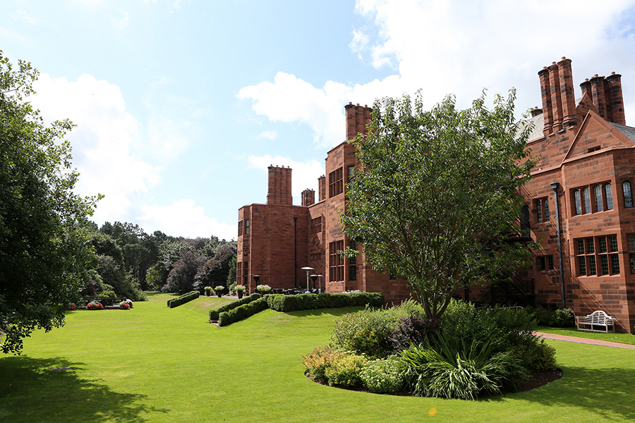 Abbey House hotel and gardens building and grounds