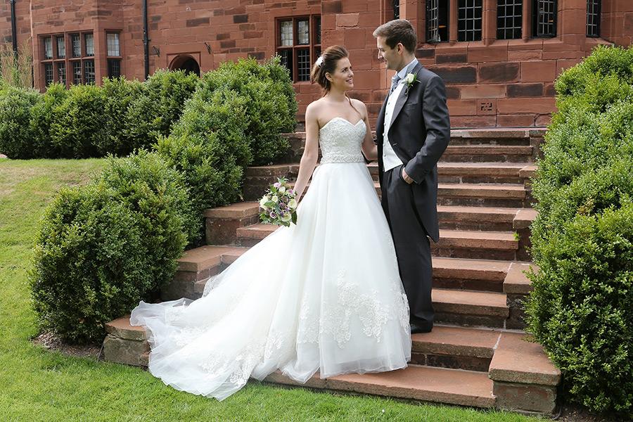 Abbey House Wedding Couple