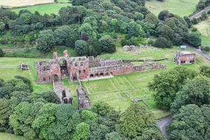 Abbey House Hotel from air