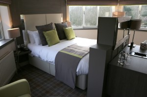 bed within the rooms