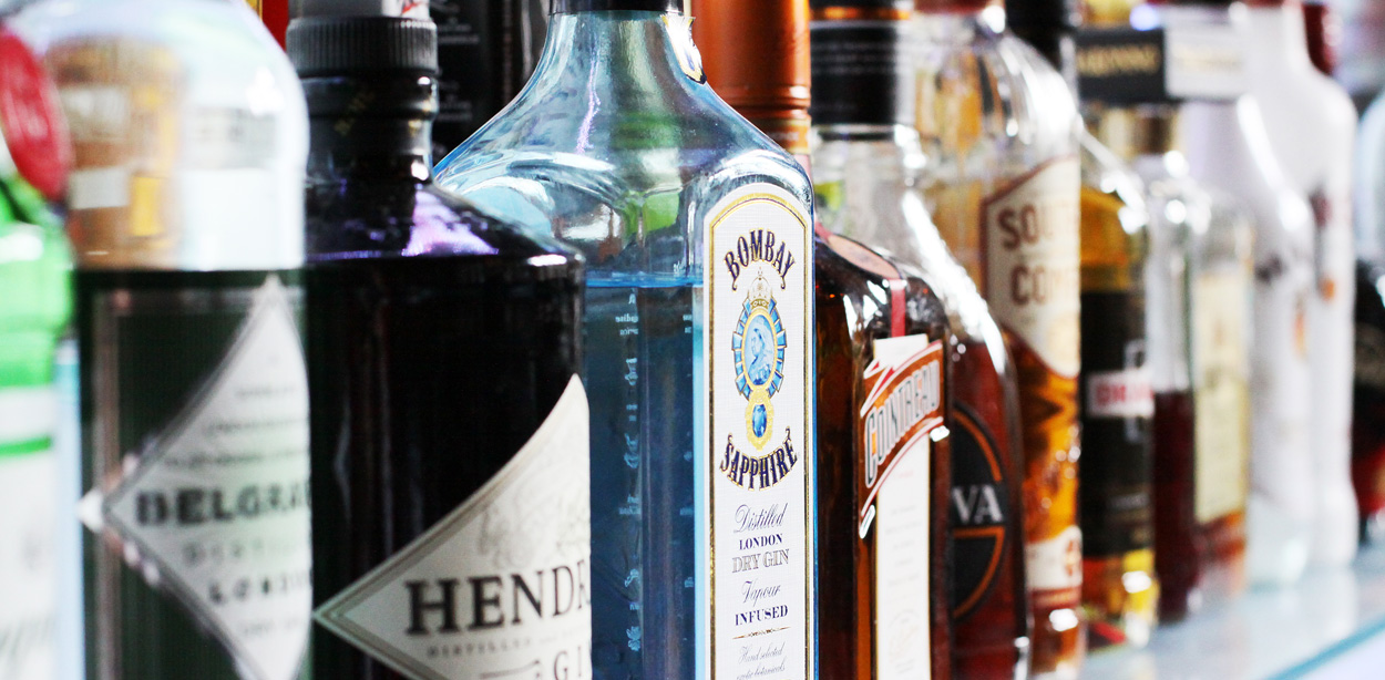 Alcohols available at Abbey House Hotel
