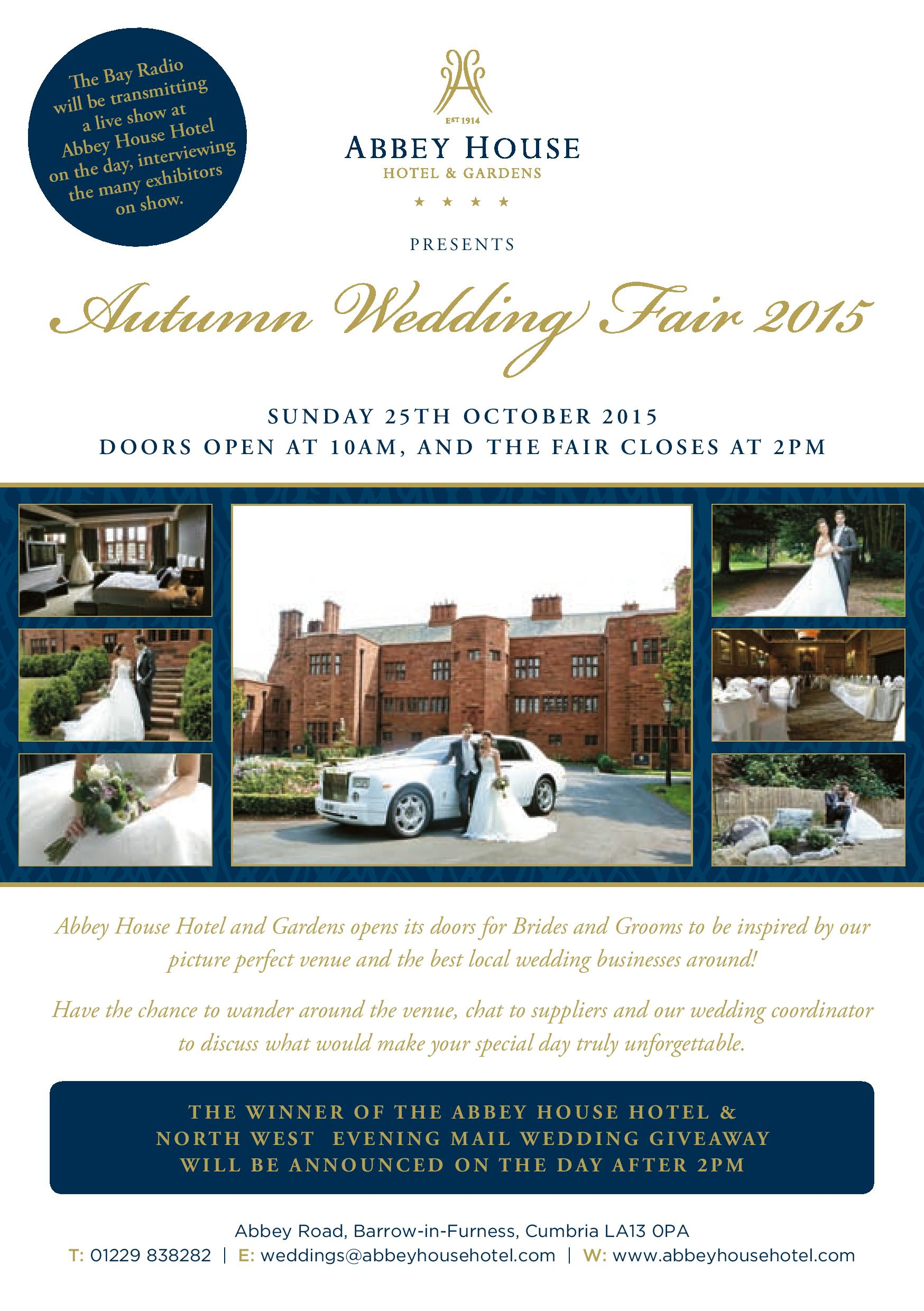 Autumn wedding fair 2015