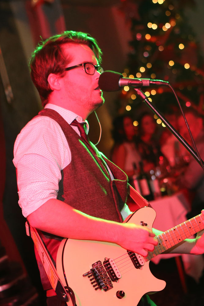 live band and entertainment at Abbey house hotel