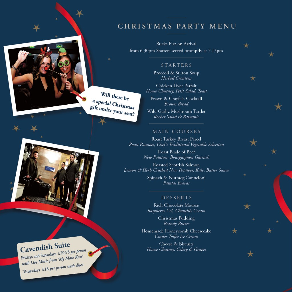Christmas Brochure Xmas Party