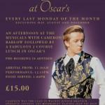 AHH Monday Musical at Oscar's A5 Flyer