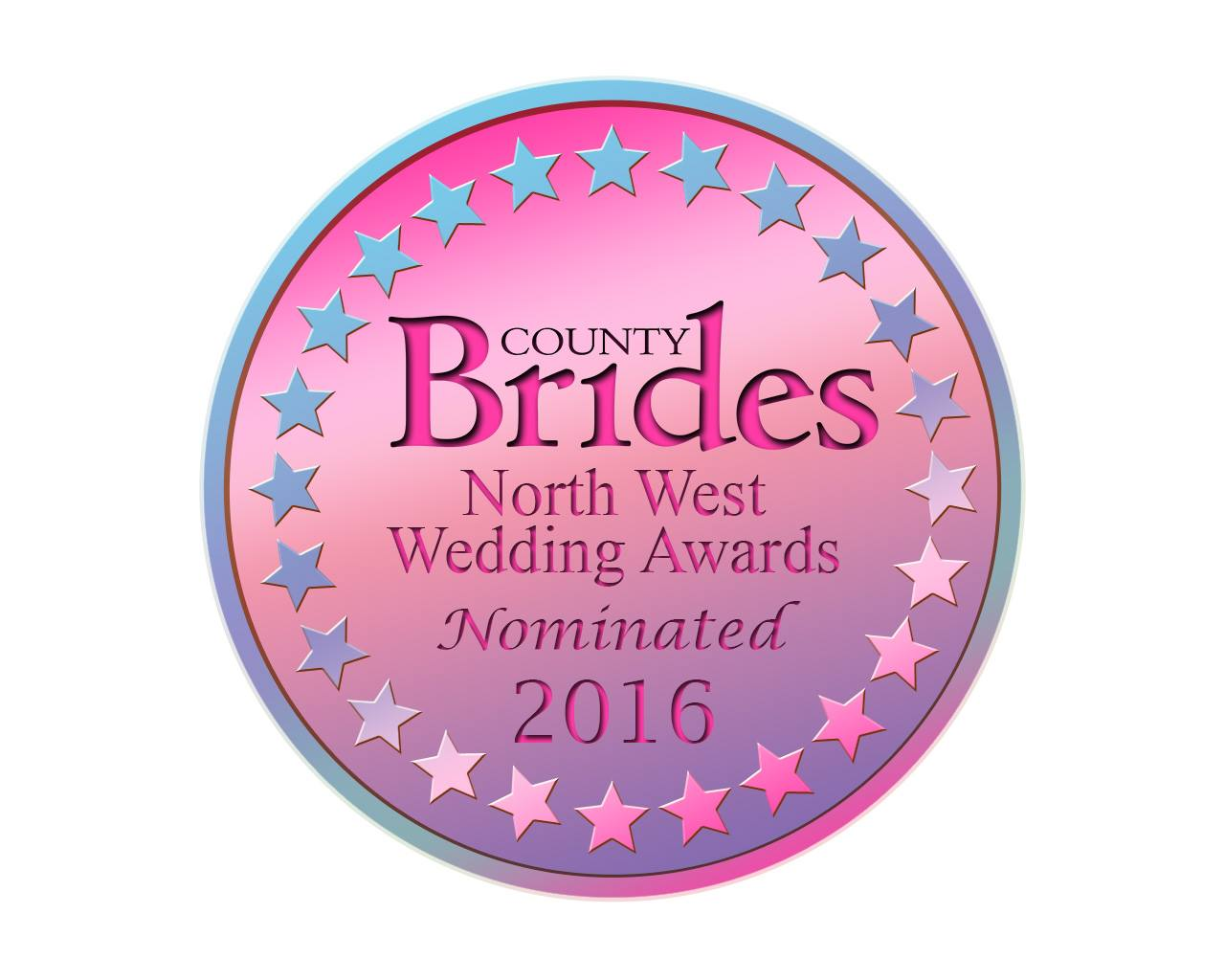 Country Brides North-West Wedding Awards Nominated 2016