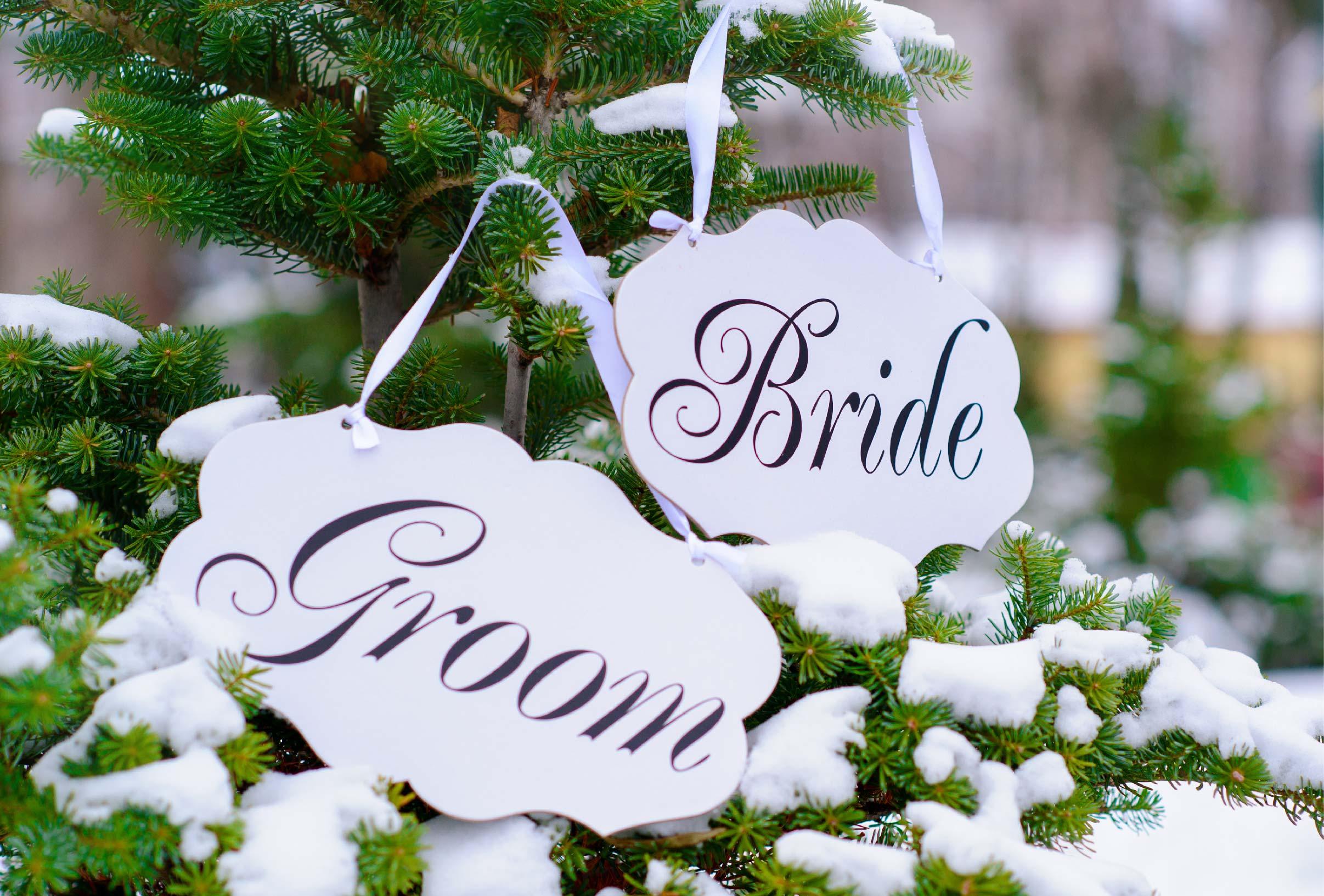 Winter Bride Groom Sign-01