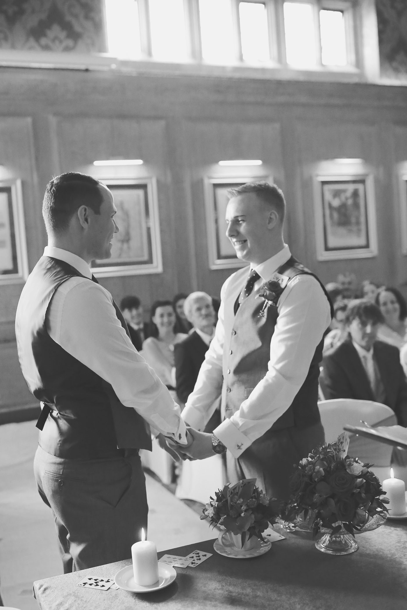 Gay Marriage Vows at Abbey House