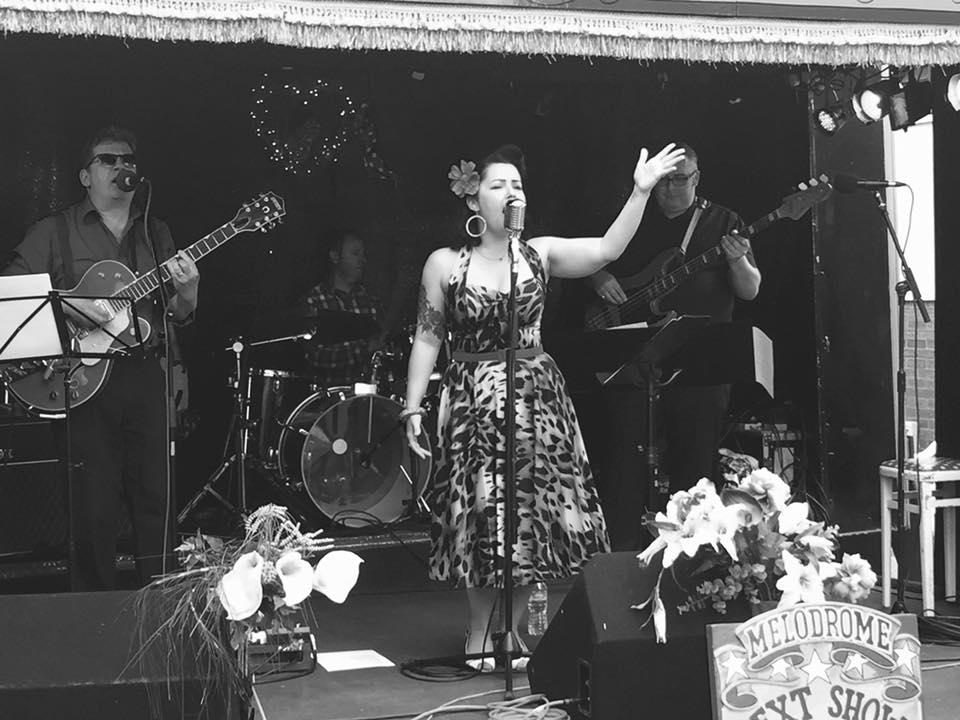 Becki Fishwick singing