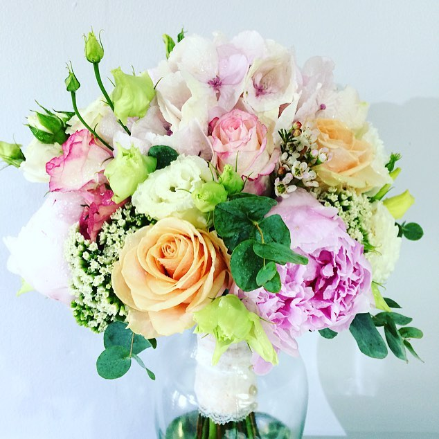 Summery floral bouquet