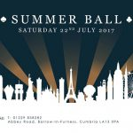 Summer ball at Abbey House hotel