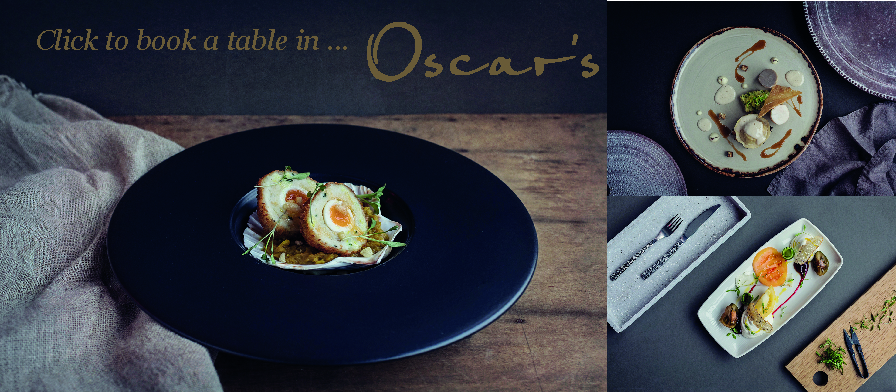 Dishes served at Oscars