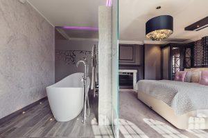 Luxury suites and bathroom